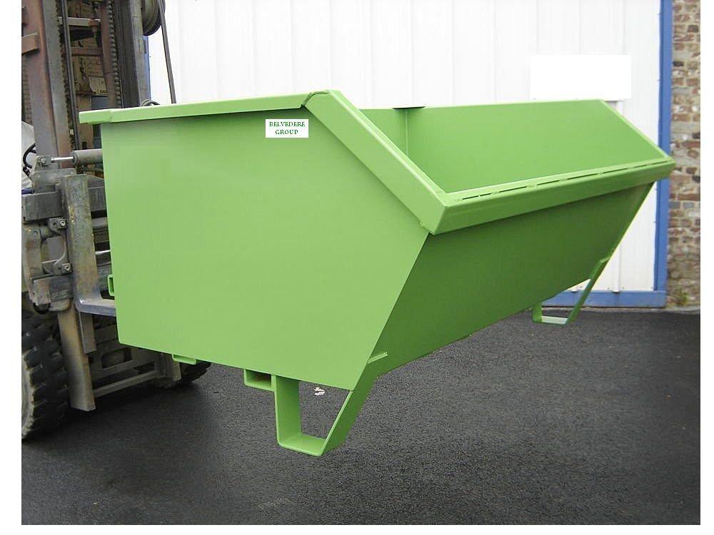 Mini Container metalic - deseuri
