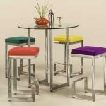 SET Masa si scaune cadru metalic - BEL 2