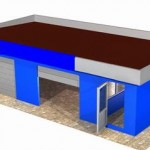 Spalatorie Auto - structura metalica - BEL 9