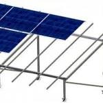 Structura metalica - Panouri solare - BEL 1