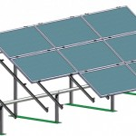 Structura metalica - Panouri solare - BEL 2
