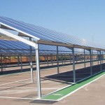 Structura metalica - Parcare&Panouri solare - BEL 7